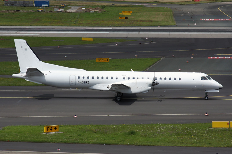 "G-CERZ SAAB 2000 ""Eastern Airways"" c/n 042 Dusseldorf/EDDL/DUS 11-07-16"