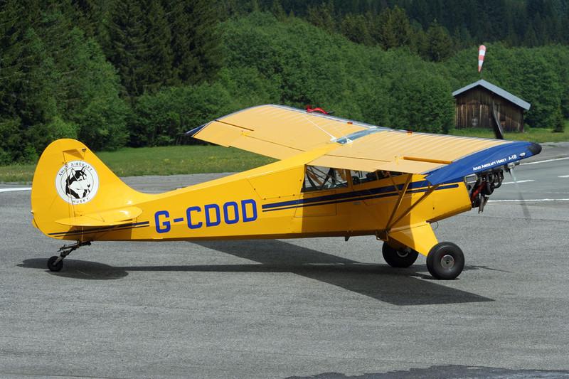 G-CDOD Aviat Huskey A-1B c/n 2292 Megeve/LFHM/MGV 13-06-07