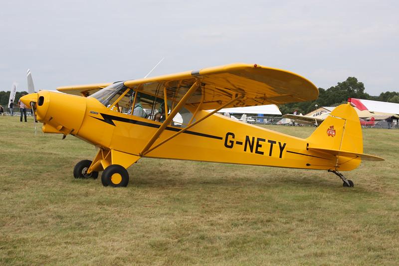 G-NETY Piper PA-18-150 Super Cub c/n 1809108 Schaffen-Diest/EBDT 16-08-14