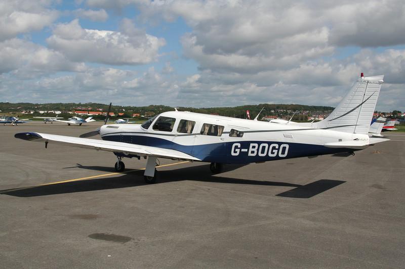 G-BOGO Piper PA-32R-301T Turbo Saratoga SP c/n 32R-8029064 Le Touquet/LFAT/LTQ 09-09-07