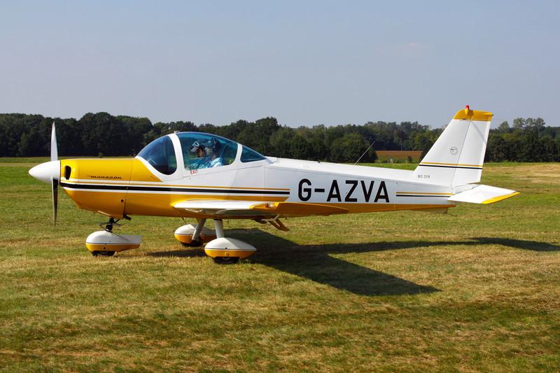 G-AZVA Bolkow Bo.209-150FF Monsun c/n 177 Schaffen-Diest/EBDT 11-08-12