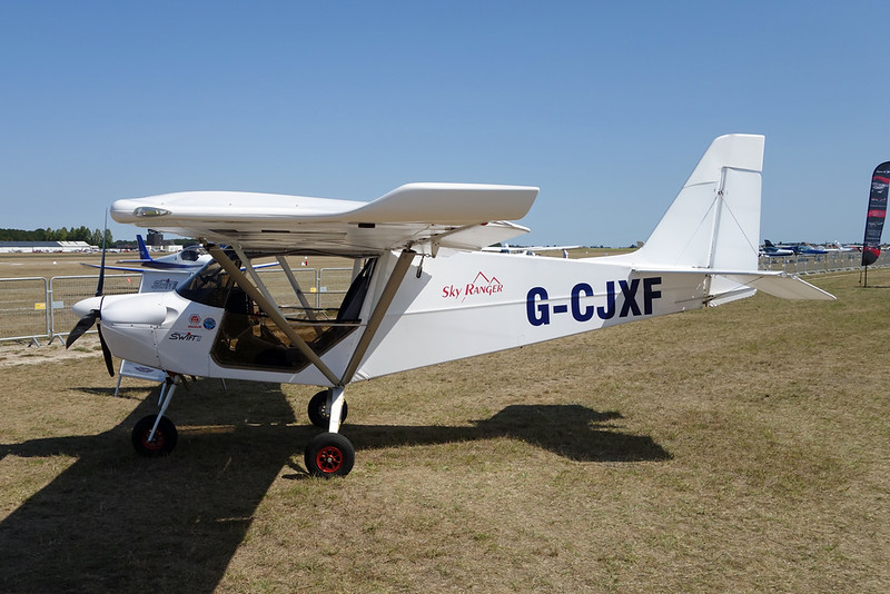 G-CJXF Best Off Skyranger c/n BMAA/HB/696 Blois/LFOQ/XBQ 02-09-18