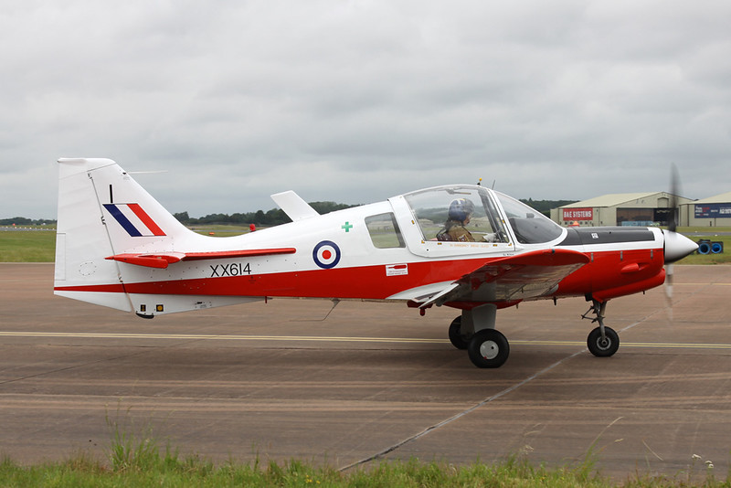 G-GGRR (XX614/I) Scottish Aviation SA.120T-1 Bulldog c/n 272 Fairford/EGVA/FFD 22-07-19