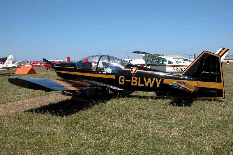 G-BLWY Robin R.2160 Alpha Sport c/n 176 Kemble/EGBP 12-07-03