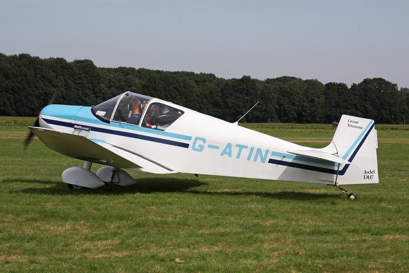 G-ATIN Jodel D.117 Gran Tourisme c/n 437 Schaffen-Diest/EBDT 12-08-12