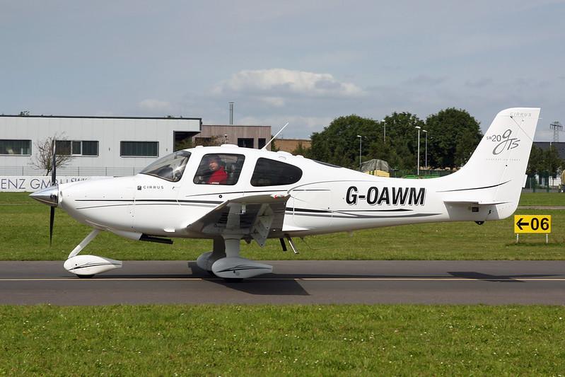 G-OAWM Cirrus Design SR-20 c/n 1972 Koblenz/EDRK 22-08-17
