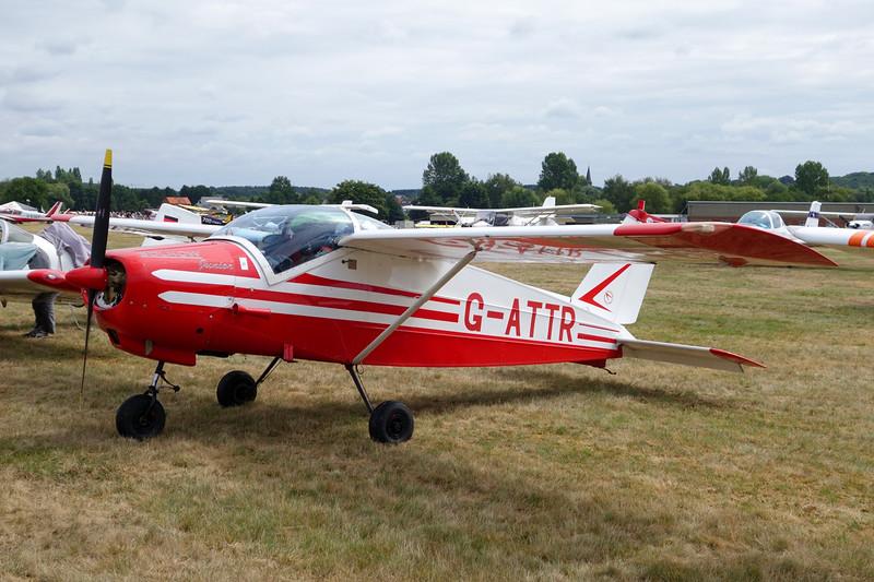 G-ATTR Bolkow Bo.208C Junior c/n 612 Schaffen-Diest/EBDT 16-08-15