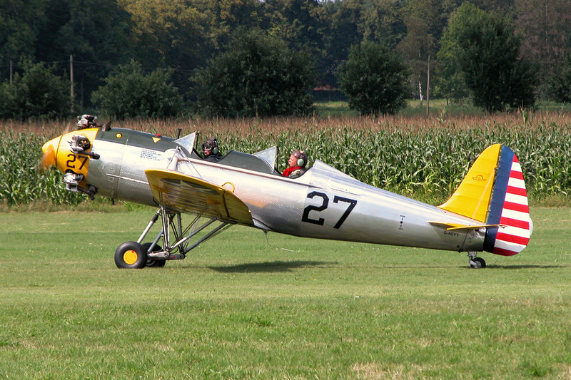 G-AGYY Ryan PT-22 Recruit c/n 1167 Schaffen-Diest/EBDT 15-08-04
