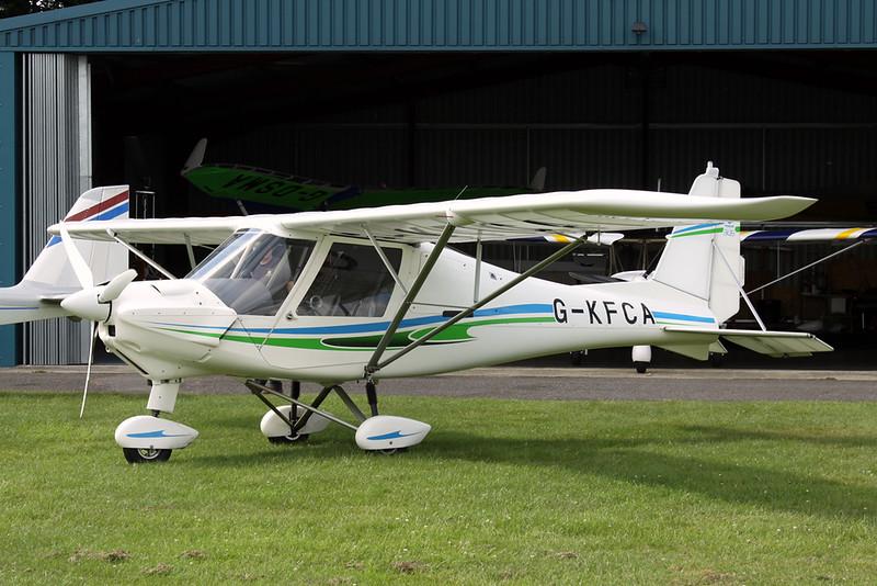 G-KFCA Ikarus Comco C-42 Cyclone c/n 1309-7282 Kemble/EGBP 22-07-19