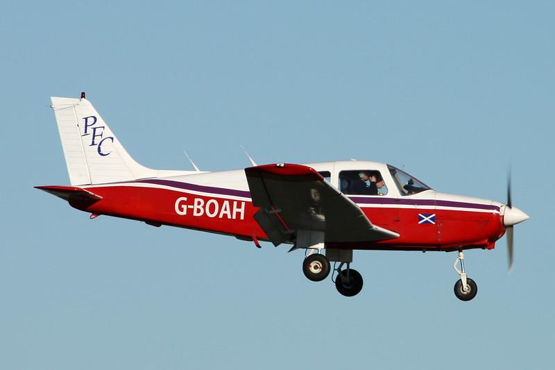 G-BOAH Piper PA-28-161 Warrior II c/n 28-8416030 Prestwick/EGPK/PIK 10-11-13