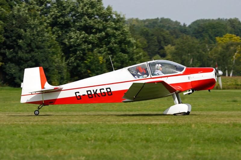G-BKGB Wassmer Jodel D.120 Paris-Nice c/n 267 Schaffen-Diest/EBDT 12-08-12