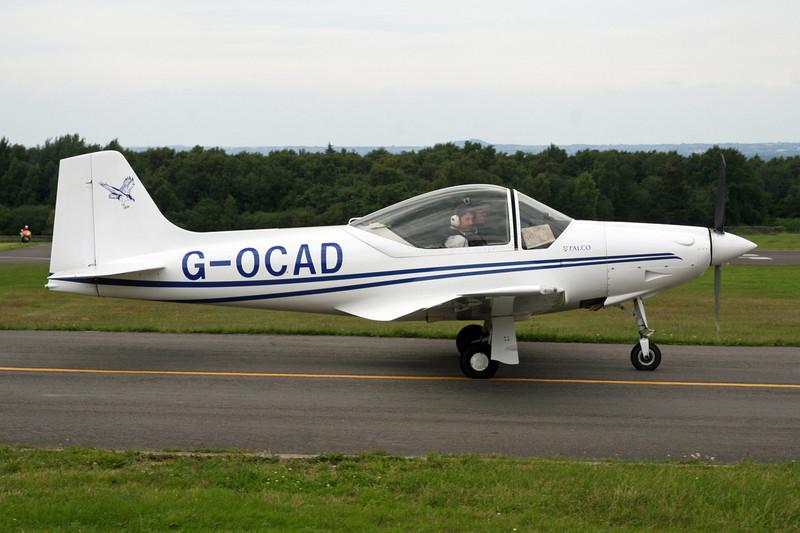 G-OCAD Sequoia F.8L Falco c/n PFA 100-12114 Spa-La Sauveniere/EBSP 08-07-07