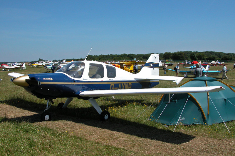 G-AXNP Beagle B121-150 Pup c/n B106 Kemble/EGBP 12-07-03