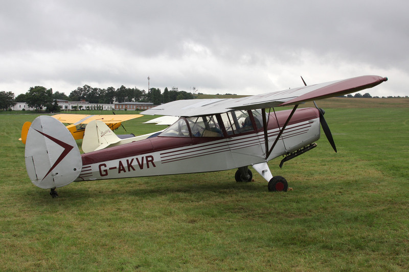 G-AKVR Chrislea CH.3 Srs.4 Skyjeep c/n 125 Schaffen-Diest/EBDT 14-08-11