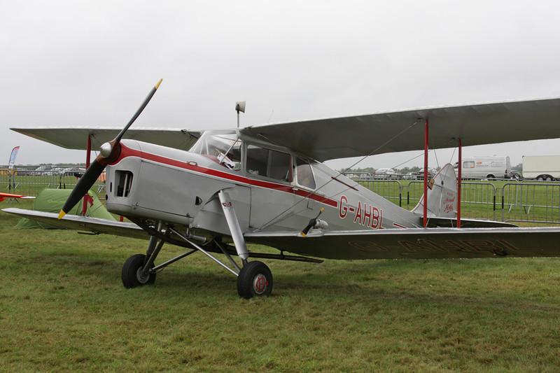 G-AHBL de Havilland DH-87B Hornet Moth c/n 8135 Schaffen-Diest/EBDT 14-08-11