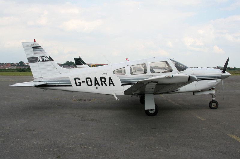 G-OARA Piper PA-28R-201 Arrow III c/n 2837002 Le Touquet/LFAT/LTQ 16-06-08