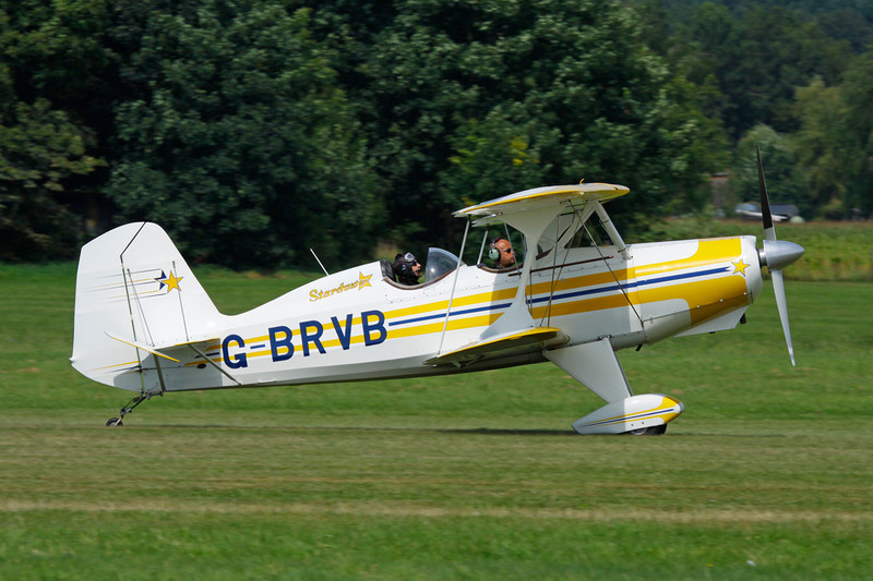 G-BRVB Stolp SA.300 Starduster Too c/n 409 Schaffen-Diest/EBDT 12-08-12