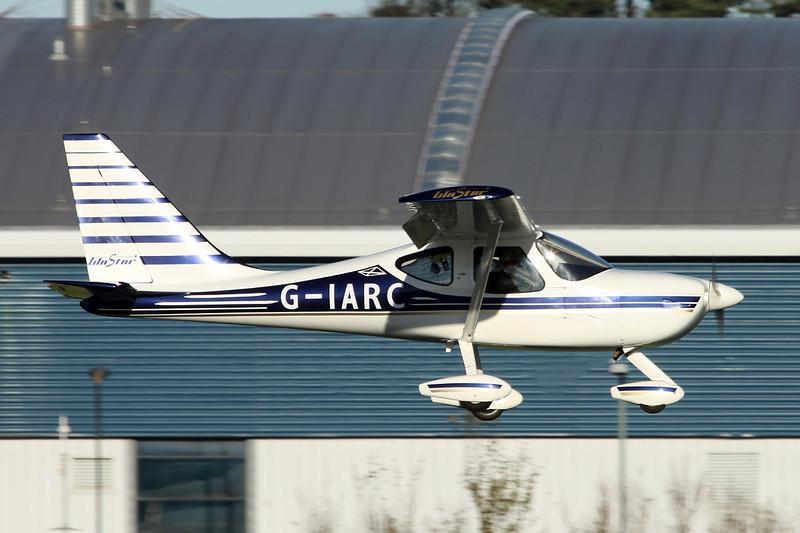 G-IARC Stoddard-Hamilton GlaStar c/n PFA 295-13261 Prestwick/EGPK/PIK 10-11-13