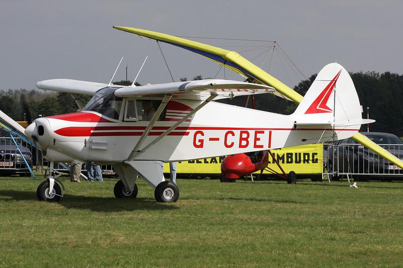 G-CBEI Piper PA-22-108 Colt c/n 22-9136 Schaffen-Diest/EBDT 11-08-12
