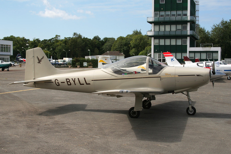 G-BYLL Sequoia F.8L Falco c/n PFA 100-10843 Le Touquet/LFAT/LTQ 09-09-07