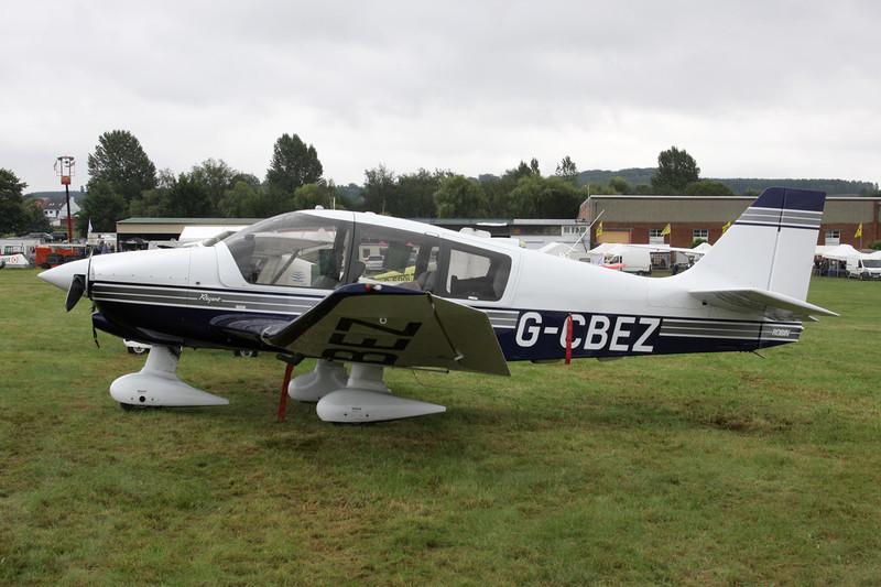 G-CBEZ Robin DR.400-180 Regent c/n 2511 Schaffen-Diest/EBDT 14-08-11