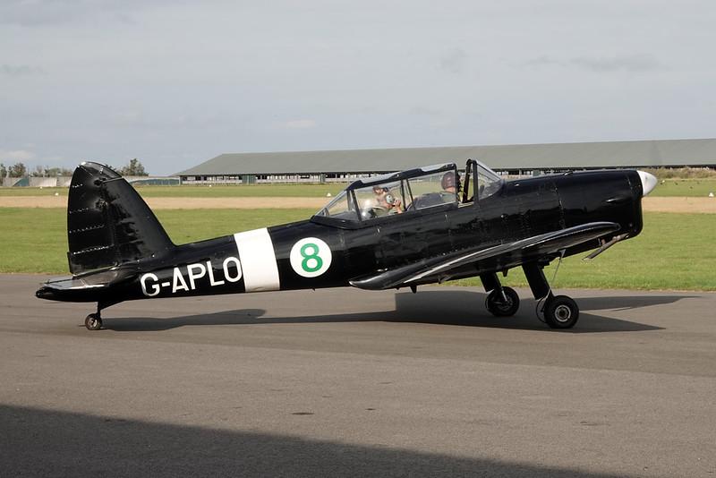 G-APLO (8) de Havilland Canada DHC-1 Chipmunk 22A c/n C1/0144 Abbeville/LFOI 31-08-19
