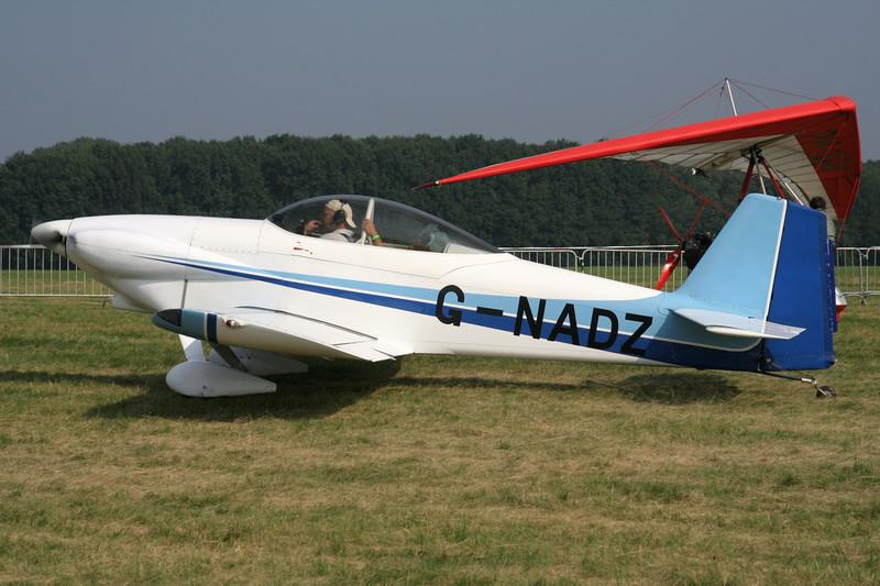 G-NADZ Van's RV-4 c/n 3 Schaffen-Diest/EBDT 12-08-07