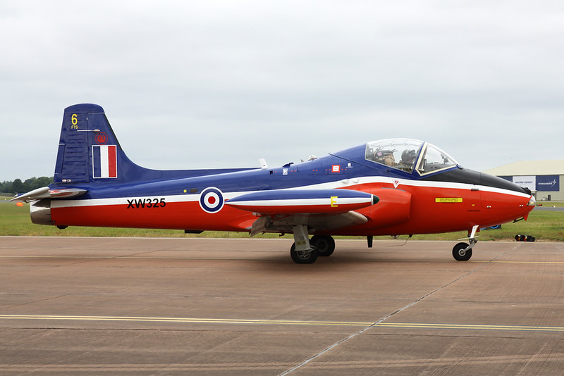G-BWGF (XW325) Hunting Percival Jet Provost T.5A c/n EEP/JP/989 Fairford/EGVA/FFD 22-07-19