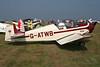 G-ATWB Jodel D.117 Gran Tourisme c/n 423 Schaffen-Diest/EBDT 12-08-07