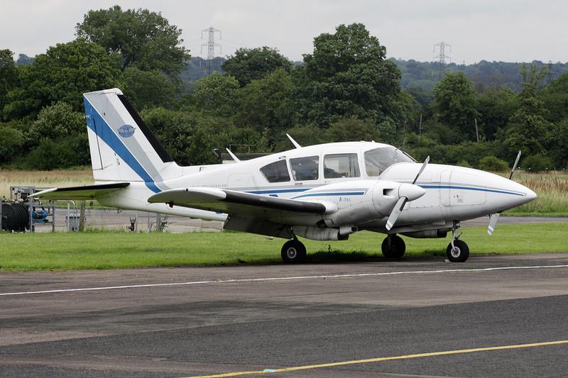 G-BFBB Piper PA-23-250 Aztec E c/n 27-7405294 Elstree/EGTR/ETR 18-07-11