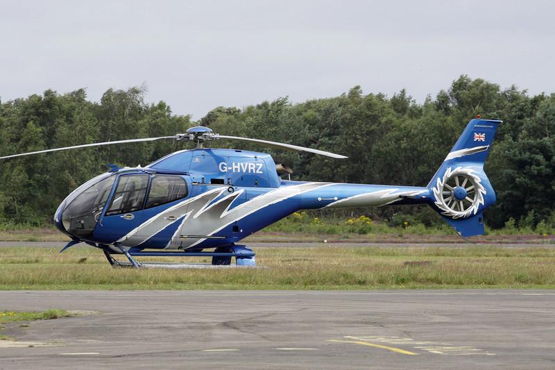 G-HVRZ Eurocopter EC-1220B Colibri c/n 1338 Blackbushe/EGLK/BBS 18-07-11