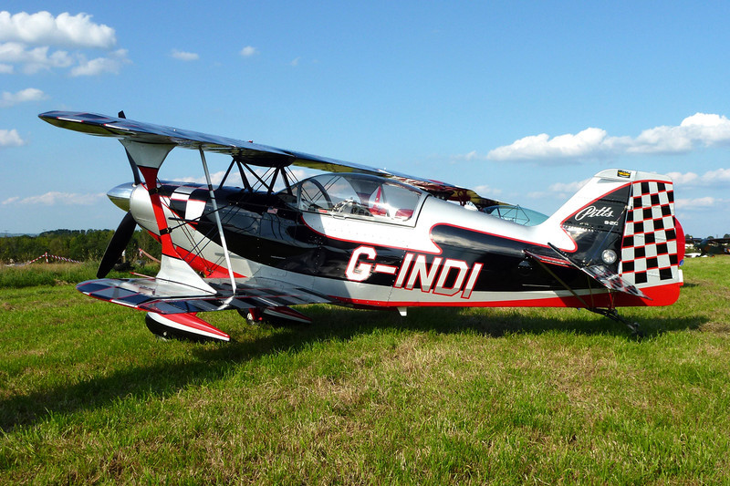 G-INDI Aviat S-2C Special c/n 6084 Verviers-Theux/EBTX 03-09-11