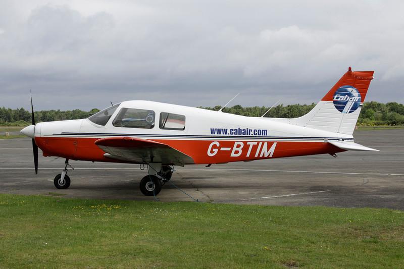 G-BTIM Piper PA-28-161 Cadet c/n 2841159 Blackbushe/EGLK/BBS 18-07-11