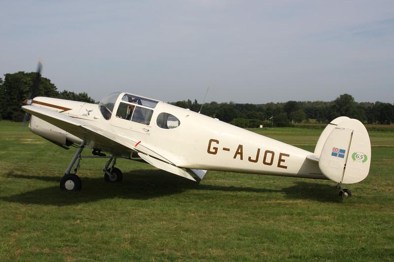 G-AJOE Miles M.38 Messenger 2A c/n 6367 Schaffen-Diest/EBDT 12-08-12