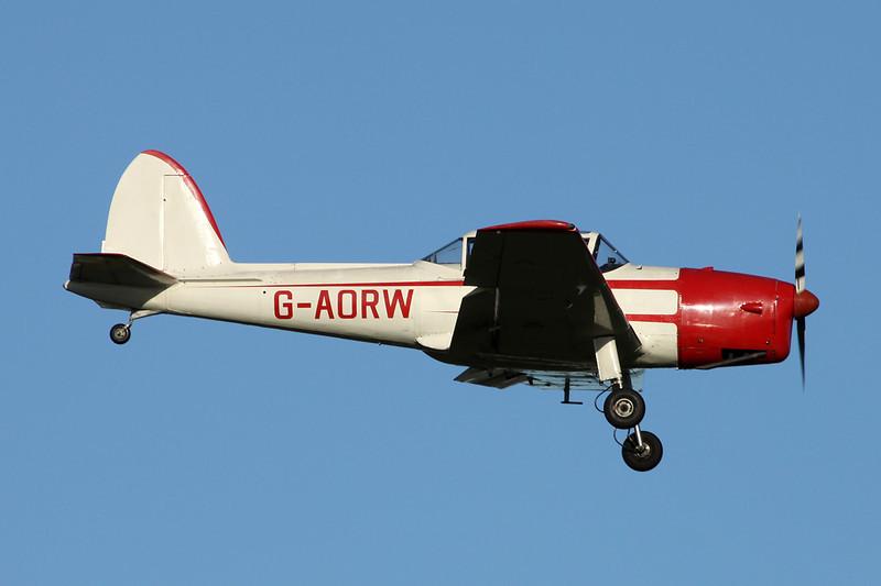 G-AORW de Havilland Canada DHC-1 Chipmunk 22A c/n C1/0130 Prestwick/EGPK/PIK 10-11-13