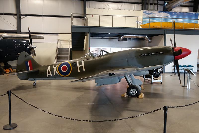 MT847 (AX-H) Supermarine Spitfire FR.XIVe c/n 6S/643779 Pima 29-01-18