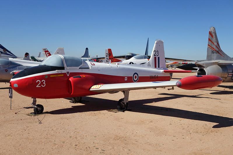 XM464 (23) BAC Jet Provost T.3A c/n PAC/W/9272 Pima/14-11-16