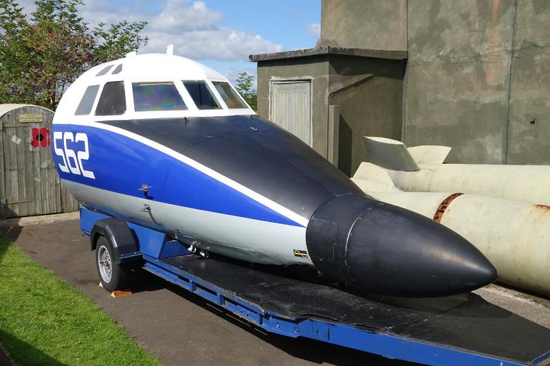 "XX483 (562) Handley-Page HP.137 Jetstream T.2 ""Royal Navy"" c/n 264 Dumfries 31-08-14"