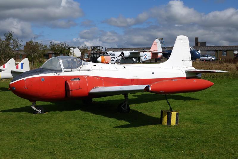 XS209 BAC Jet Provost T.4 c/n PAC/W/22177 Carlisle/EGNC/CAX 31-08-14