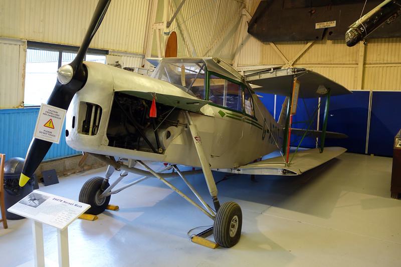 G-ADOT de Havilland DH-87B Hornet Moth c/n 8027 London Colney 09-03-14
