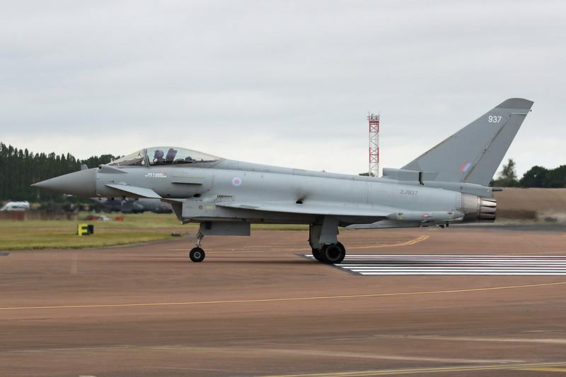 "ZJ937 (937) British Aerospace EFA FGR.4 Typhoon ""Royal Air Force"" c/n BS028 Fairford/EGVA/FFD 22-07-19"
