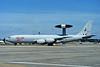 """ZH104 Boeing E-3D AEW.1 Sentry """"Royal Air Force"""" c/n 24112 Fairford/EGVA/FFD 24-07-95 (35mm slide)"""