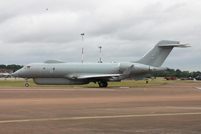 "ZJ694 Bombardier Sentinel R.1 ""Royal Air Force"" c/n 9135 Fairford/EGVA/FFD 22-07-19"