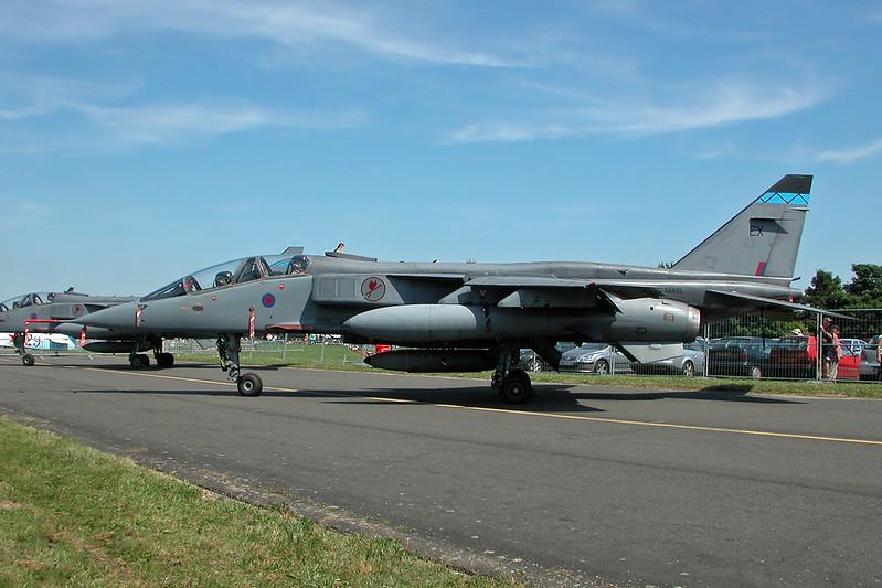 "XX835 (EX) SEPECAT Jaguar T4 ""Royal Air Force"" c/n B-23 Cambrai/LFQI/XCB 02-07-06"