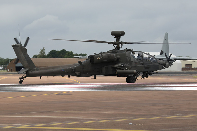 """ZJ181 McDonnell-Douglas Helicopters WAH-64D Apache """"Army Air Corps"""" c/n WAH16 Fairford/EGVA/FFD 22-07-19"""