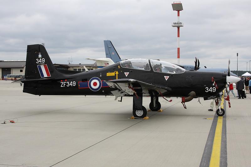 """ZF349 Short EMB-312T.1 Tucano """"Royal Air Force"""" c/n T84 Spangdahlem/ETAD/SPM 30-07-11"""