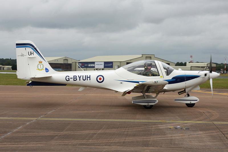 G-BYUH Grob G115E Tutor c/n 82093E Fairford/EGVA/FFD 22-07-19