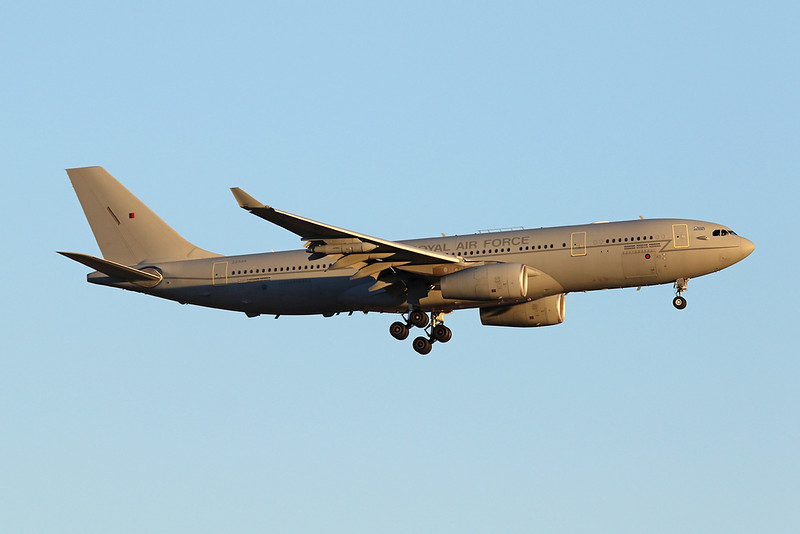 "ZZ335 Airbus A330 KC3 Voyager ""Royal Air Force"" c/n 1334 Nellis/KLSV/LSV 02-02-18"