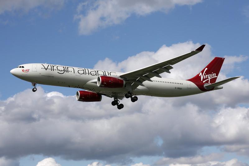 G-VRAY Airbus A330-343X c/n 1296 Heathrow/EGLL/LHR 11-05-12