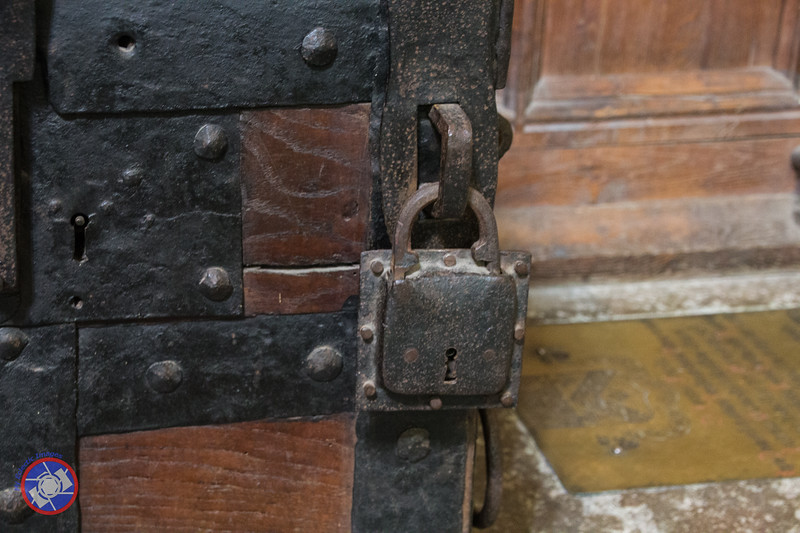 A Lock on a Medieval Strong Box (©simon@myeclecticimages.com)